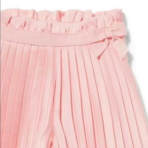 Janie and Jack Pink Satin Pants Girl Size 3 NEW